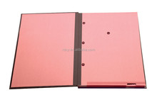PVC Hardcover with paper inner sheet Signature Book