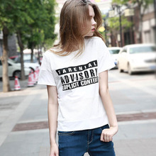 Women cotton cheap election screen print tshirt with low price