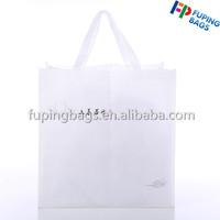 Hot sale nature non woven fabric shopping foldable bag with logo printing for promotion