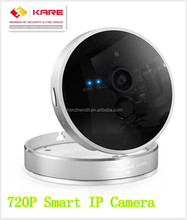720P wireless IP camera IR motion sensor, alarm sound, cube, pan tilt, 3D, home security