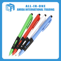 Cheap slim pen with different functions magic pens