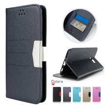 New Arrival Leather Case For Blackberry Motion, Wallet Style Flip Phone Case Cover For Blackberry Motion