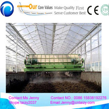 Hot sale Poultry manure turning machine compost with low price /compost Turning Machine