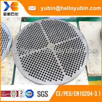 China Factory High Quality Casting Condenser Baffle Plate/Drilling Tube Sheet With EN 10204-3.1