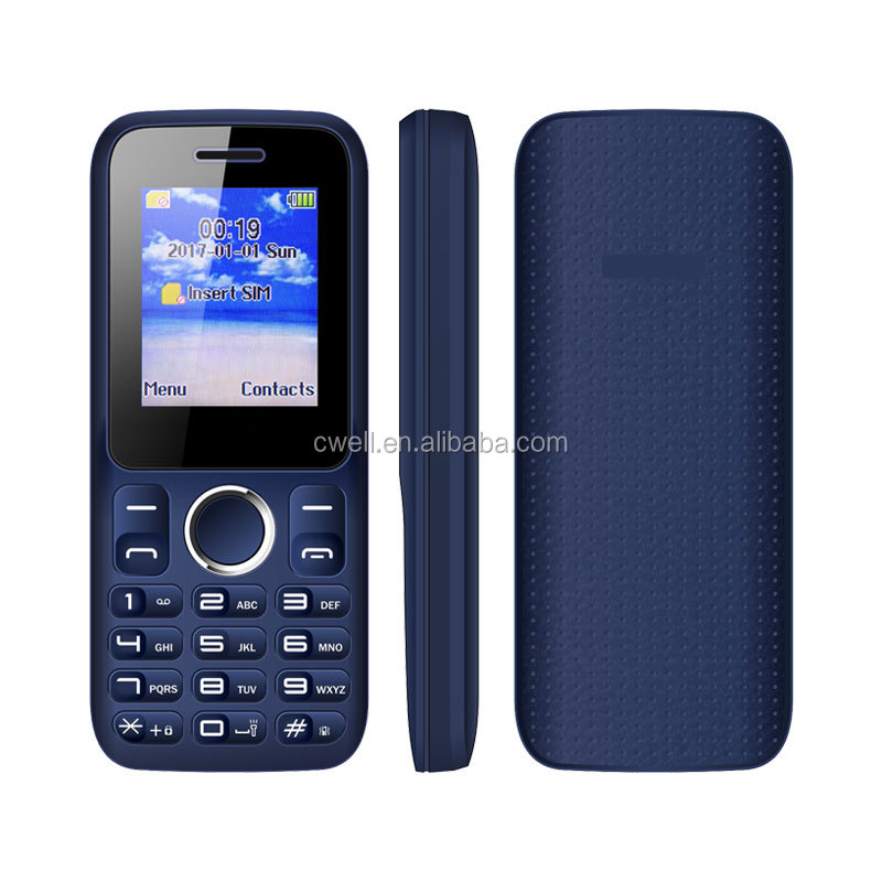 Wholesale 1.77 Inch Screen Dual SIM Card FM Radio Cell Mobile Phone ECON NC10
