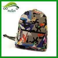 canvas color life backpack school bags wholesale