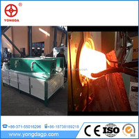 Medium frequency induction heating machine titanium forging