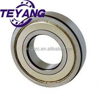 Metal shield (ZZ) Deep groove ball bearing 6301ZZ, 6301ZZ C3