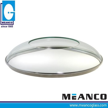 Dome shape Toughened Clear Glass Cooking Pot Lid for 2015 New Products
