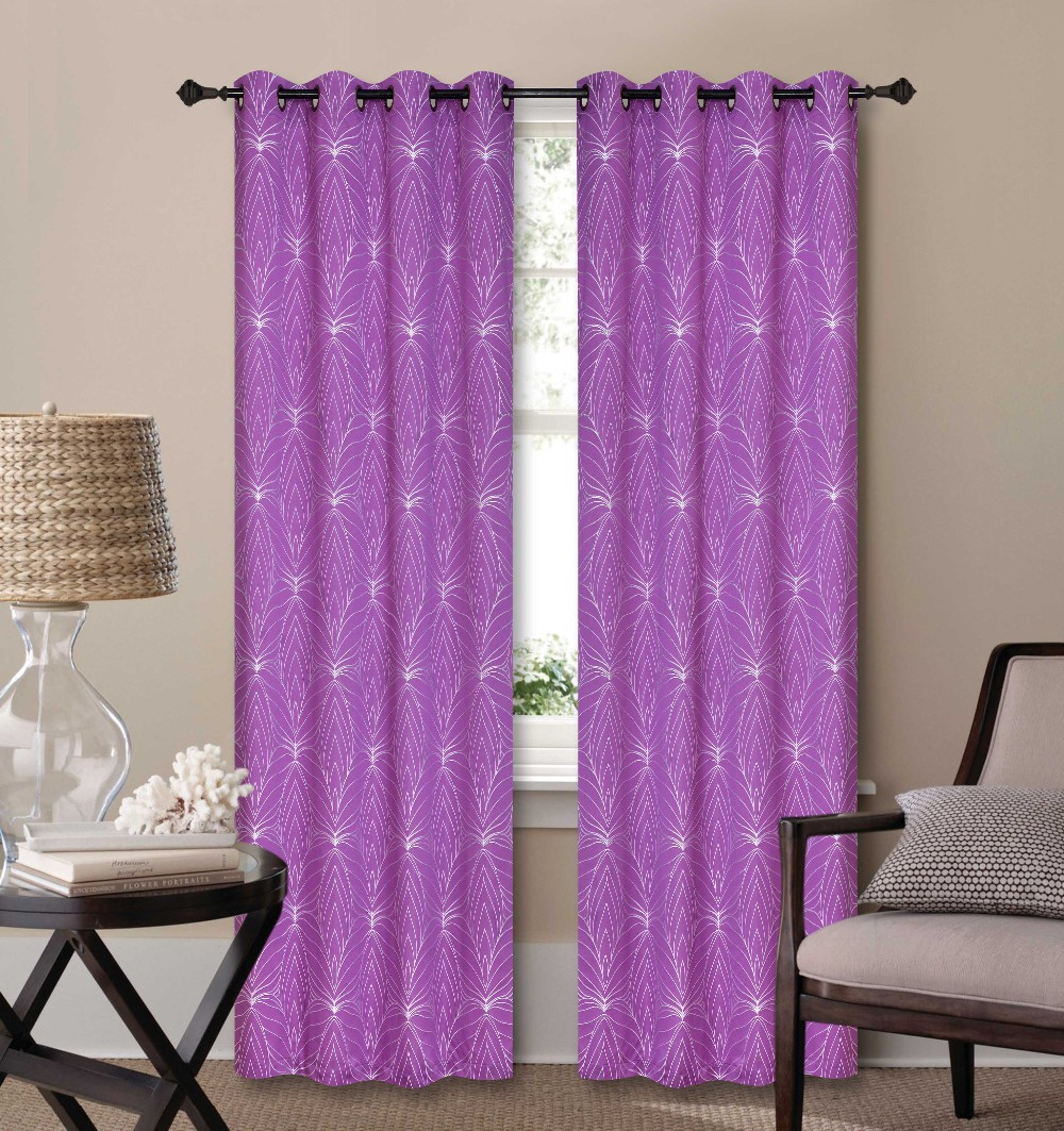 1PC SOLID TEXTURE FAUX LINEN CURTAIN FOR LIVING ROOM