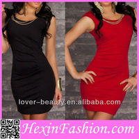 Wholesale Black&Red Sexy Girls Party Dresses