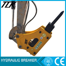 Small excavator hydraulic breaker hammer attachment mounted Breakers