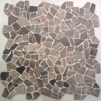 Rainforest mosaic tile for bathroom marble mosaic floor tile