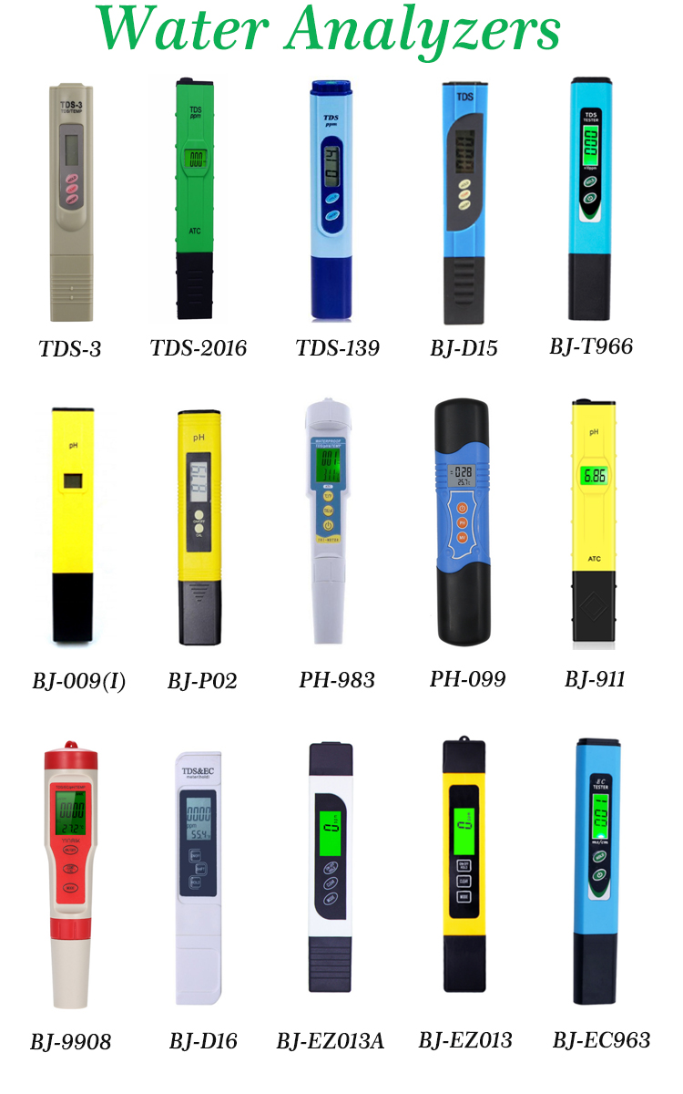 Professional Mini PH Meter Automatic Correction Waterproof Acidity Meter Pen Type Quality Analysis Device With Backlight