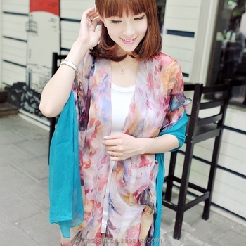 2015Elegant and fashionable women's scarf shawl autumn deep blue