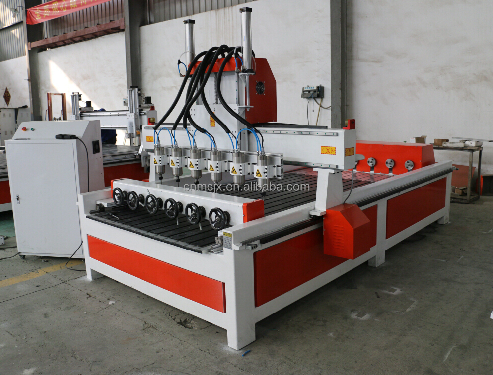 Professional Multi rotary Units multi spindle cnc router engraver