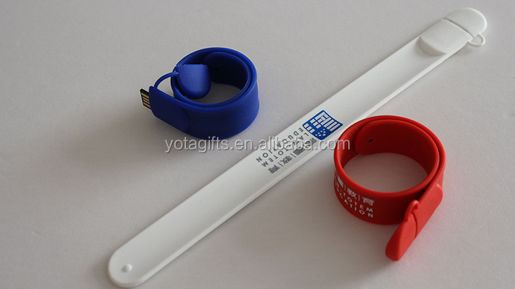 Promotional Cheap Wristband Micro USB Flash Drive Bracelet