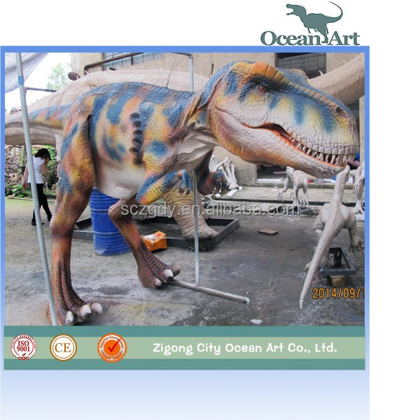 Animated adult realistic dinosaurs costume