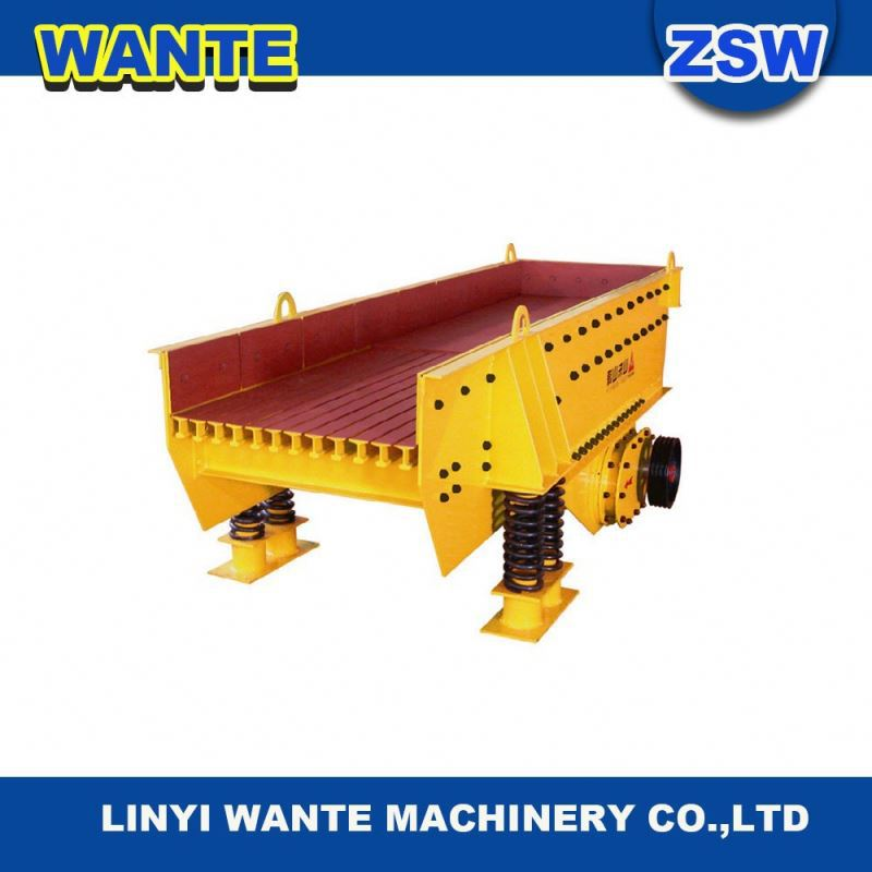 Shandong Electric Vibrating Feeder used for Quarry Plant mining machine ZSW--490x130