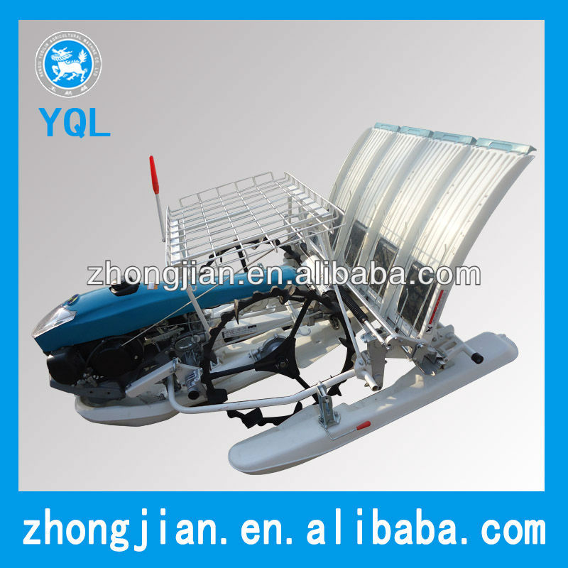 4 rows rice transplanter with 2 wheels