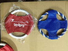 F359 Custom logo Folding dog frisbee toy/flying disc
