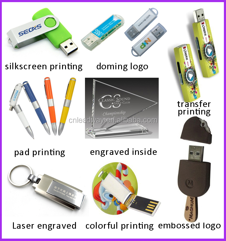 customized pvc unique bulk usb flash drive