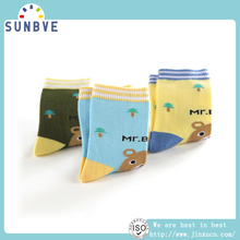 wholesale knit winter terry socks for baby