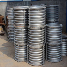 Stainless steel pipe expansion joint waterproof bellows compensator