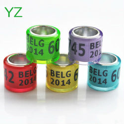 2015 hot sale top quality belgium pigeon rings for sale
