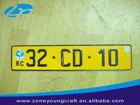 Made in China european size license plates for sale