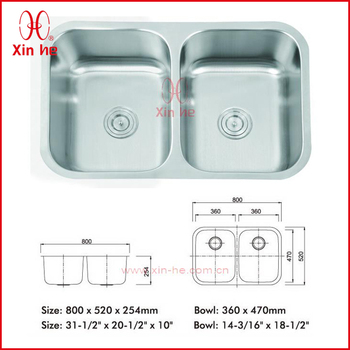Small Double Kitchen Sink - Buy Small Double Kitchen Sink,Kitchen Sink ...