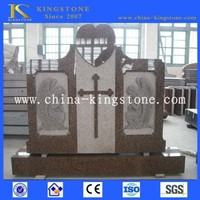 Chinese cheap tombstone headstone monument for sale