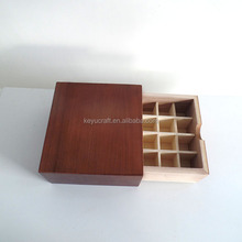 wooden perfume box 16 compartments box aromatherapy oil wooden box