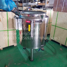 Customizable 150liter with Stirring Device Milk Sterilize Machine for Dairy Farm