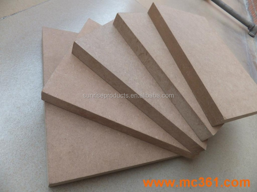top quality formaldehyde free MDF, loose packing