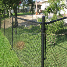 Galvanized /vinyl coated 6 gauge chain link fence/chain link fabric( 20 Years Professional Factory )