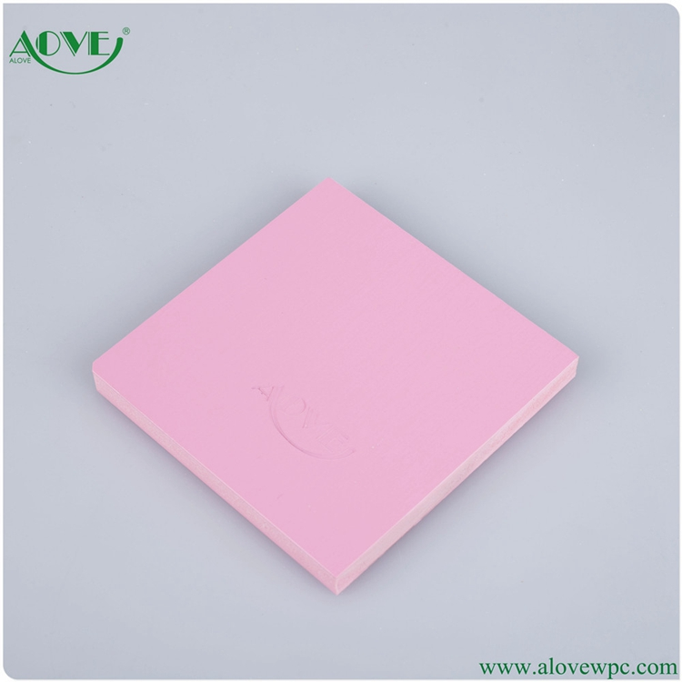 lightweight wood plastic composite foam board for decking