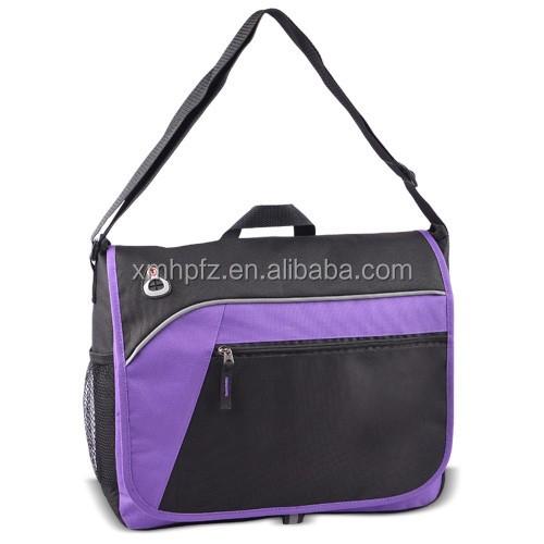 New design reuseable cheap lightweight messenger school bag