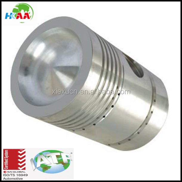 Professional custom steel automobile engine piston , steel motorcycle engine piston