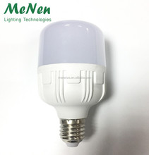 new cylindrical led bulb led birdcage lamp led plastic bulb light 25W e27 plastic aluminum bulb