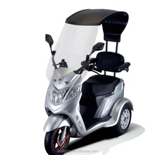 Three-wheeled Electric Scooter Motorcycle Electric Vehicle with a roof and 3 wheels