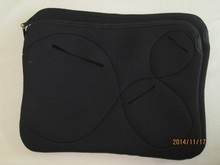 Charger slot neoprene laptop case