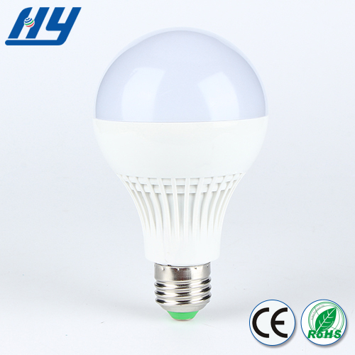 Sound and light control 9W china high/low power led bulb light garden bulb light lamp