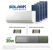 Fully solar powered air conditioner new split wall mounted air conditioners