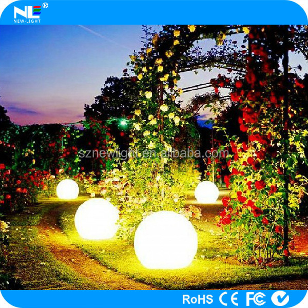 New product!!Shenzhen cheap lighting up waterproof floating led light ball/led ball/led swimming pool ball