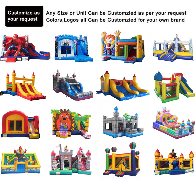 Inflatable Jungle Bounce House Jumper Bouncy Kids Jump Bouncer Castle