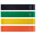 Alibaba 10-Year Golden Supplier 100% Full Sactification Factory Direct Latex Exercise Resistance Loop Bands Set