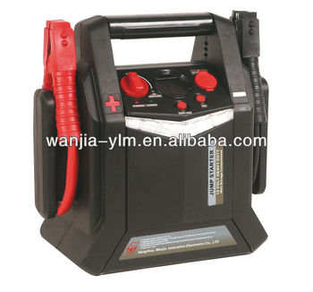 WJ-EP00D 12V Dual battery Jump starter with digital voltmeter