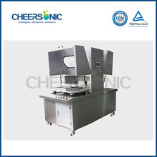 rectangualr cakes cutting ultrasonic food cutting and wrapping machine