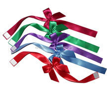 Design polyester satin ribbon bow for gift decoration